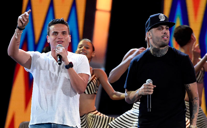 Silvestre Dangond y Nicky Jam grabaron 'Cásate conmigo' y ahora pretenden revalidar el éxito conseguido en 'Materialista', lanzada para finales de 2015. EL PILÓN / Archivo.
