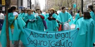 Manifestaciones pro aborto