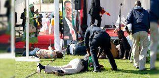 atentado zimbabue