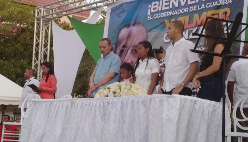 Wilmer González Brito regresa hoy a su cargo como gobernador de La Guajira.