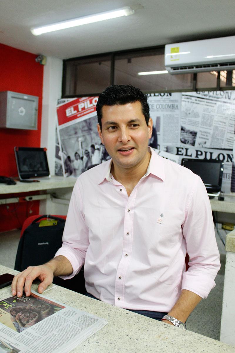 Aprovechando su visita a Valledupar, EL PILÓN entrevistó al presidente de Colpensiones, Juan Miguel Villa Lora.