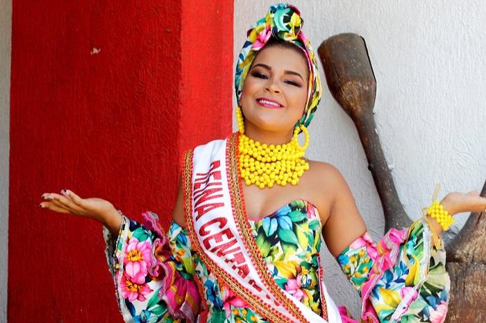 Los carnavales de Valledupar son abanderados por la reina central Karolay Michel Castillo Nieves.