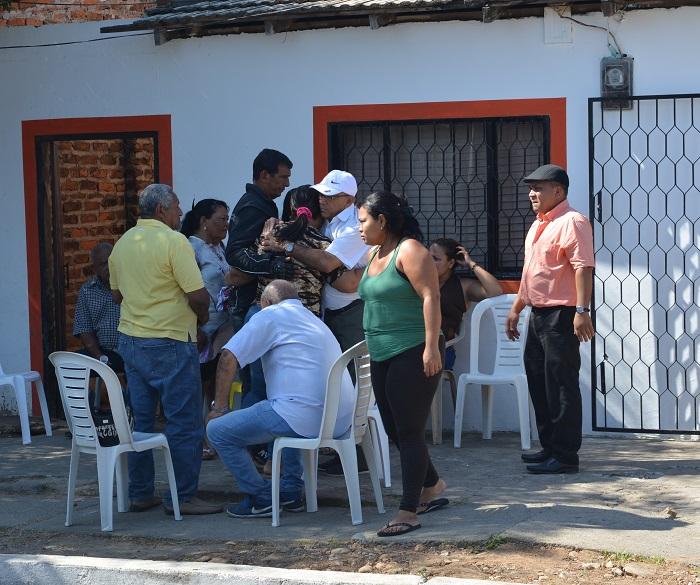 Los habitantes del sector reclaman seguridad en este barrio donde diariamente se registran hurtos.
