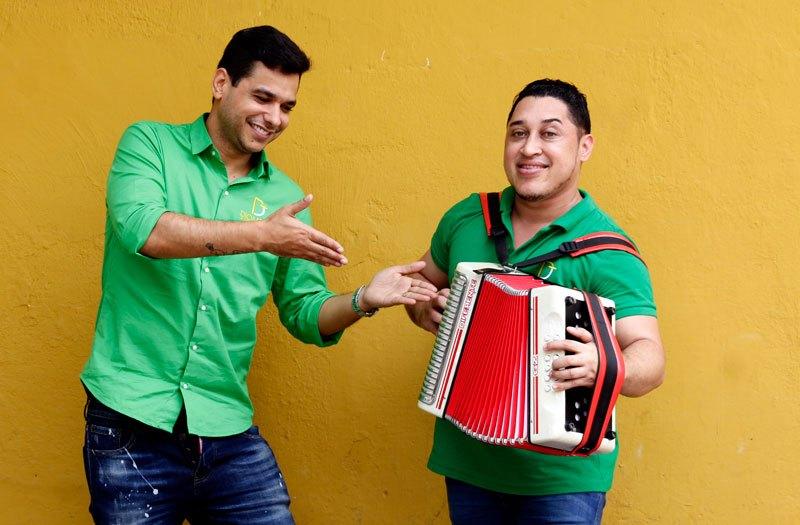 Diomedes de Jesús y Tonny Gutierréz  Foto: Joaquín Ramírez.