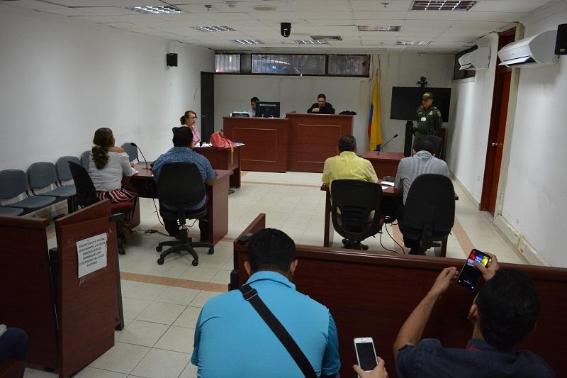 Luis Gregorio Ramírez Maestre no asistió a la audiencia condenatoria desarrollada el días de ayer 13 de marzo.  Foto SERGIO MCGREEN
