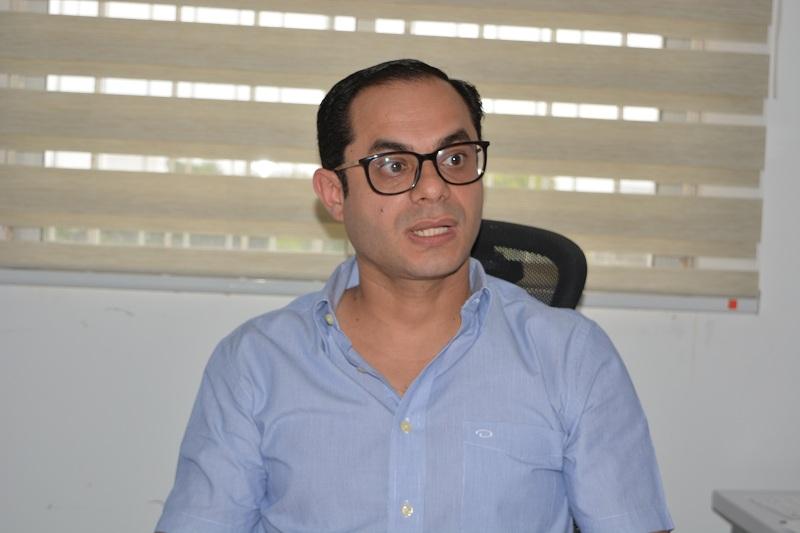 Delwin Jiménez Bohórquez, director de la seccional del Ministerio del Trabajo.  Foto: Sergio Mcgreen.