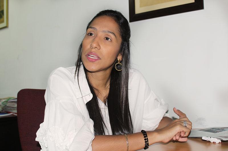 Claudia M. Zuleta habría ganado encuesta para ser la candidata del CD