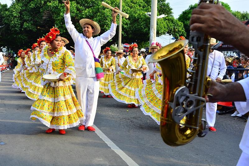 Danza de El Pilón, baile tradicional de Valledupar.   Foto: Archivo.