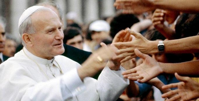 Juan Pablo II, hoy 14 años de su muerte.   Foto: Tomada de Internet.