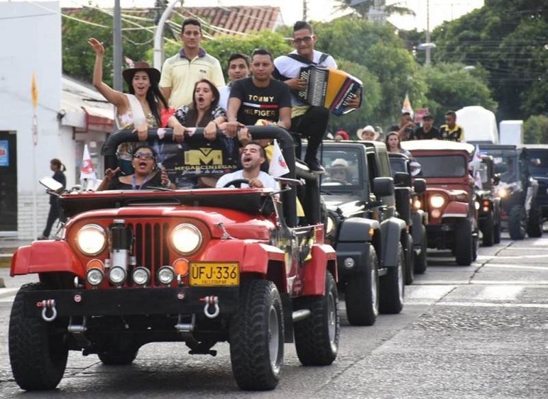 Este año el desfile partirá desde el Parque de La Leyenda Vallenata y recorrerá las principales calles de la capital del Cesar.  Foto: Suministrada.