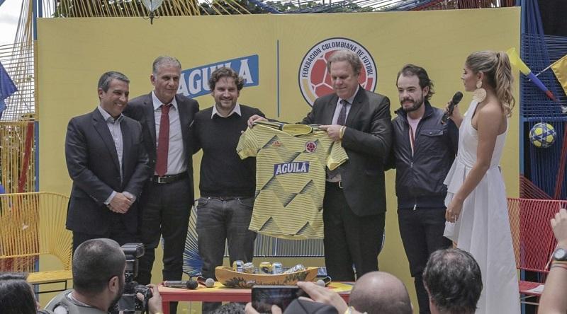 En el evento estuvo el entrenador de la Selección Colombia, Carlos Queiroz, quien mostró su satisfacción por la noticia.   Cortesía.