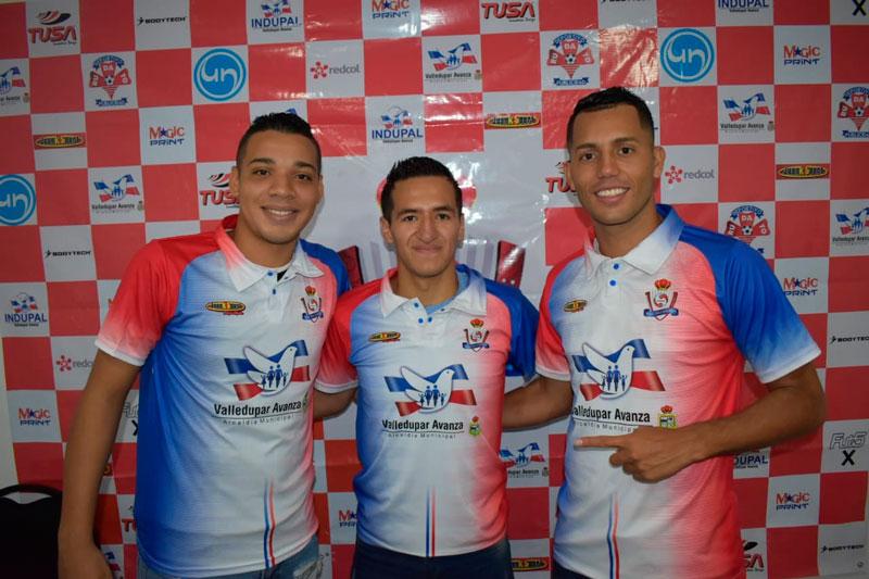 Tres jugadores con mucha experiencia tendrá Real Valledupar en sus aspiraciones a coronarse campeón del la Copa Profesional de Fútbol de Salón Colombiano.