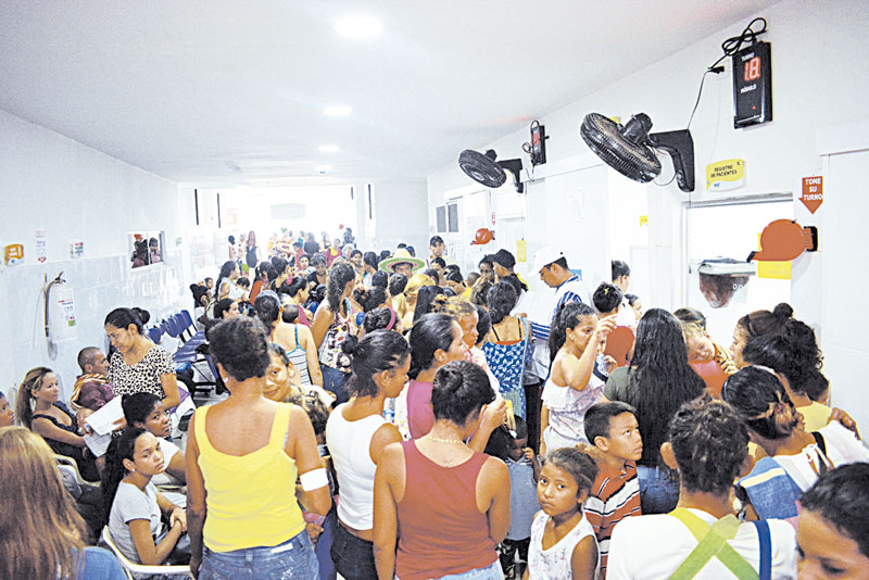 Tanto población de origen venezolano como colombianos que han retornado al país recibieron todos los servicios ofrecidos en esta jornada.