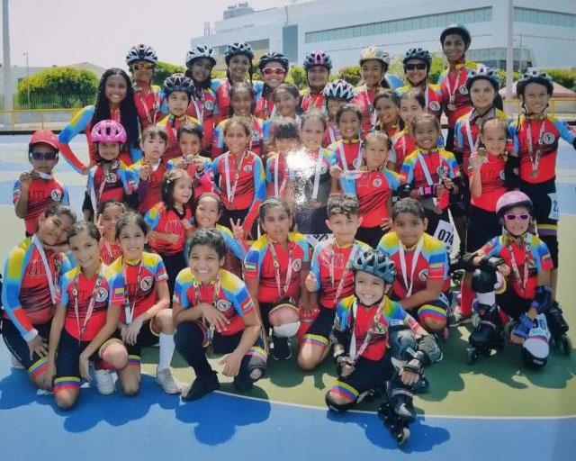 Niños y niñas entre los cinco y los 14 años representarán durante el fin de semana al departamento del Cesar.   CORTESÍA