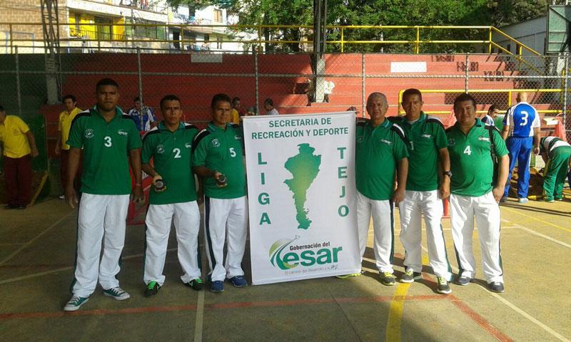 La Liga de Tejo del Cesar inició su camino en las canchas desde 1999.  CORTESÍA