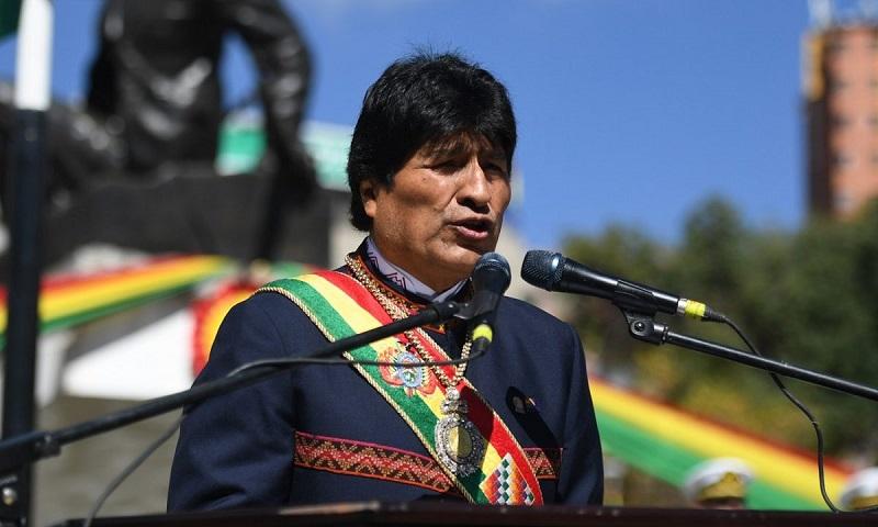 Evo Morales dejó su cargo tras 13 años en el poder.   Foto/ Cortesía.