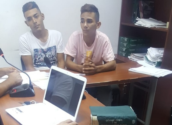 Javier Yesid Ascanio Caro y Mateo José Vanegas Caro.   FOTO/CORTESÍA.