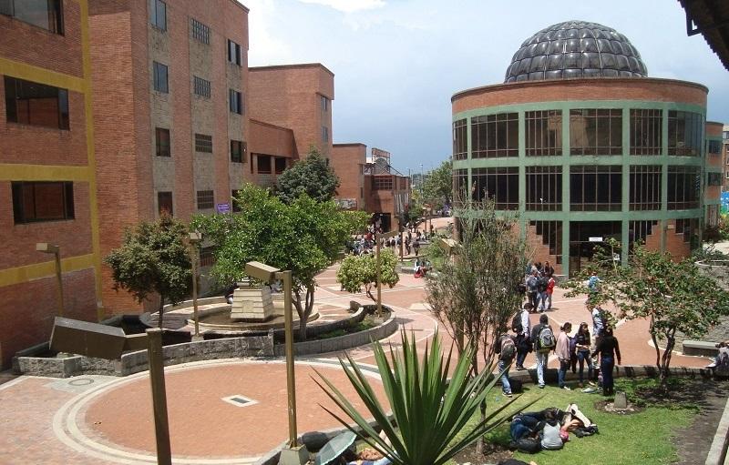 Universidad Distrital.  FOTO/REFERENCIA.