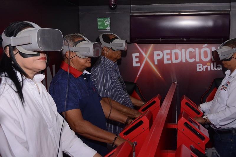 A través de ocho módulos los asistentes podrán vivir la expedición Brilla, la magia de nuestra región en 360 grados.   FOTO/SERGIO MCGREEN.