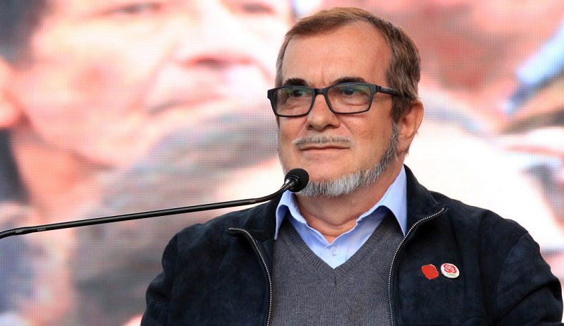 Rodrigo Londoño, conocido como Timochenko.  FOTO/CORTESÍA.