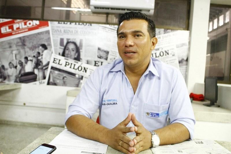Víctor Hugo Mosquera, director de la Unidad de Atención de Víctimas del Cesar y La Guajira. FOTO/ARCHIVO.