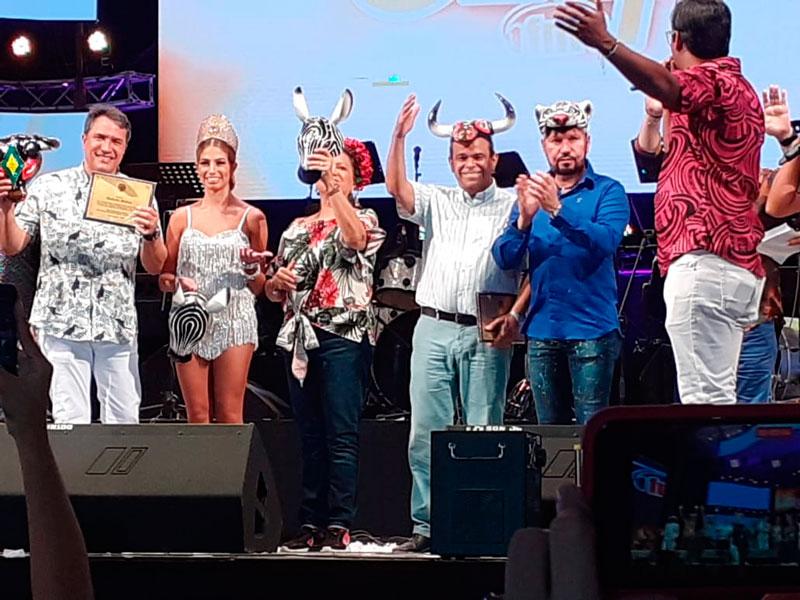 La Fundación 'Música sin Fronteras' recibió el reconocimiento durante el Festival de Orquestas.
