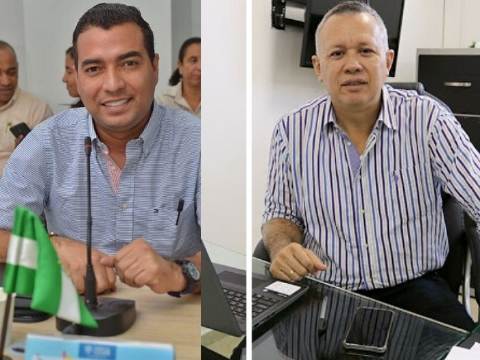 Carlos Iván Caamaño Cuadro y Henry Chacón.   FOTO/CORTESÍA.