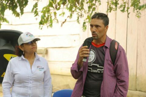 Aramis Arenas Bayona, líder asesinado.   FOTO/CORTESÍA.