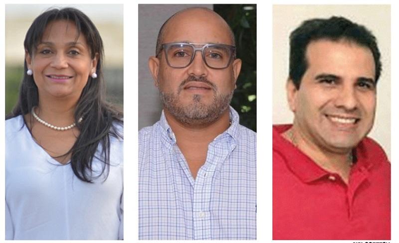 Esther Mendoza, Wilson Solano y Alejandro Aroca.   FOTO/CORTESÍA.