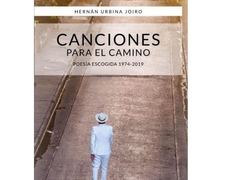 Esta es la portada del libro 'Canciones para el camino', disponible en formato digital e impreso.  FOTO/CORTESÍA.
