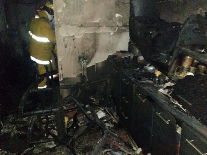 En esta casa sucedió la tragedia.  FOTO/CORTESÍA.