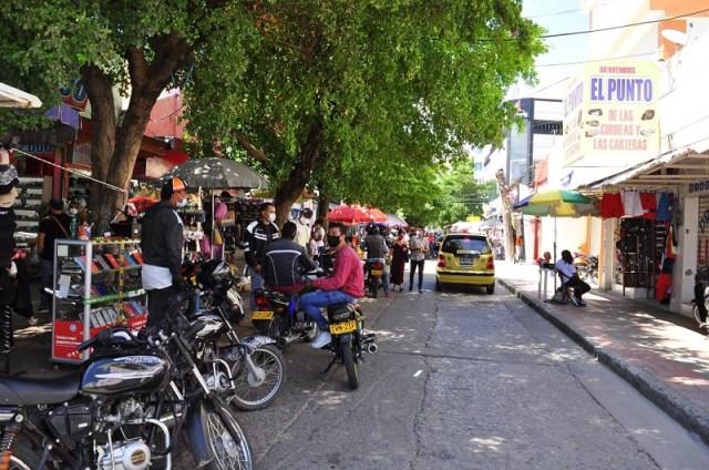 Invasión del espacio público: en riesgo la salud y reactivación económica -  El Pilón | Noticias de Valledupar, El Vallenato y el Caribe Colombiano