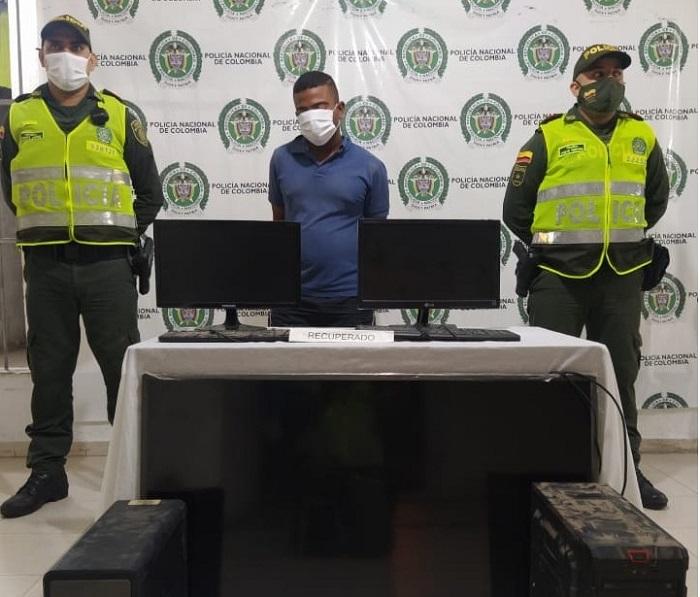 Jorge García recobró su libertad porque no le impusieron medida de aseguramiento.  FOTO/CORTESÍA.