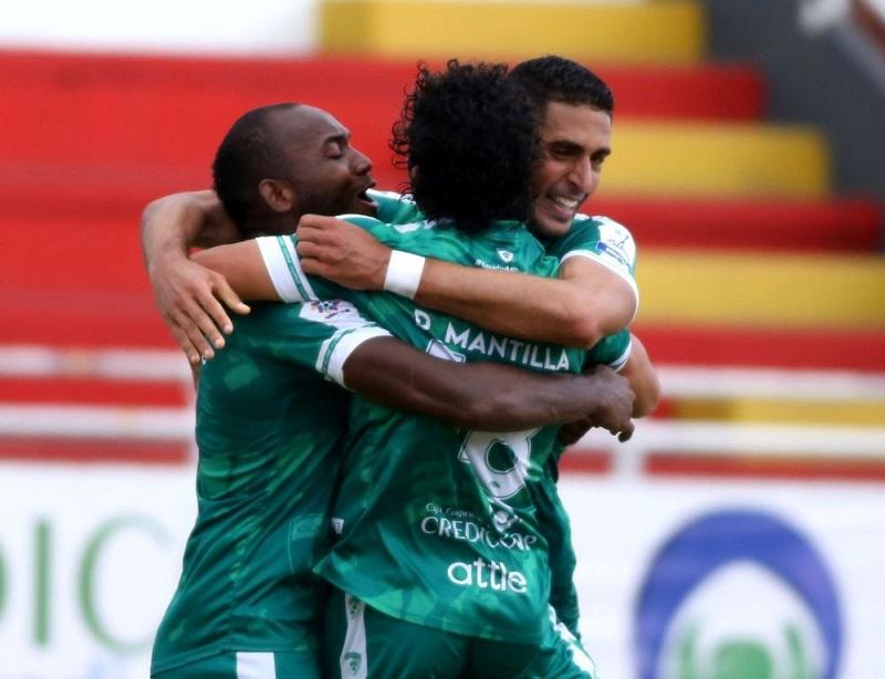Equidad celebró  su primer triunfo en la liga.  Foto/Cortesía.