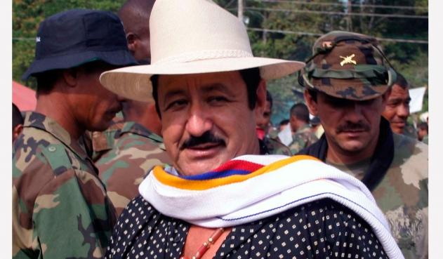 Exjefe  paramilitar, Hernán Giraldo Serna.   FOTO/CORTESÍA.
