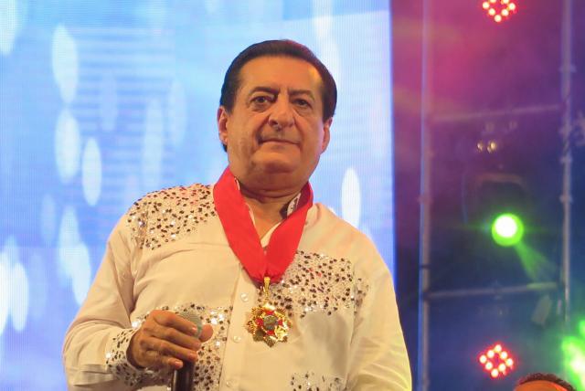 Jorge Oñate, cantante de música vallenata.   FOTO/CORTESÍA.
