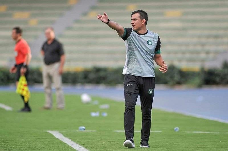 Jhon Bodmer felicitó a su equipo, pero ahora debe pasar la página y concentrarse en el partido con Bogotá Fútbol Club.  FOTO/CORTESÍA.