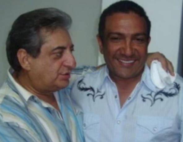 Jorge Oñate y su colega, Beto Zabaleta.  FOTO/CORTESÍA.