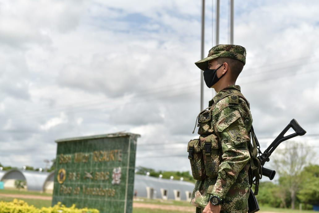 El batallón se encarga del orden al sur del Cesar.