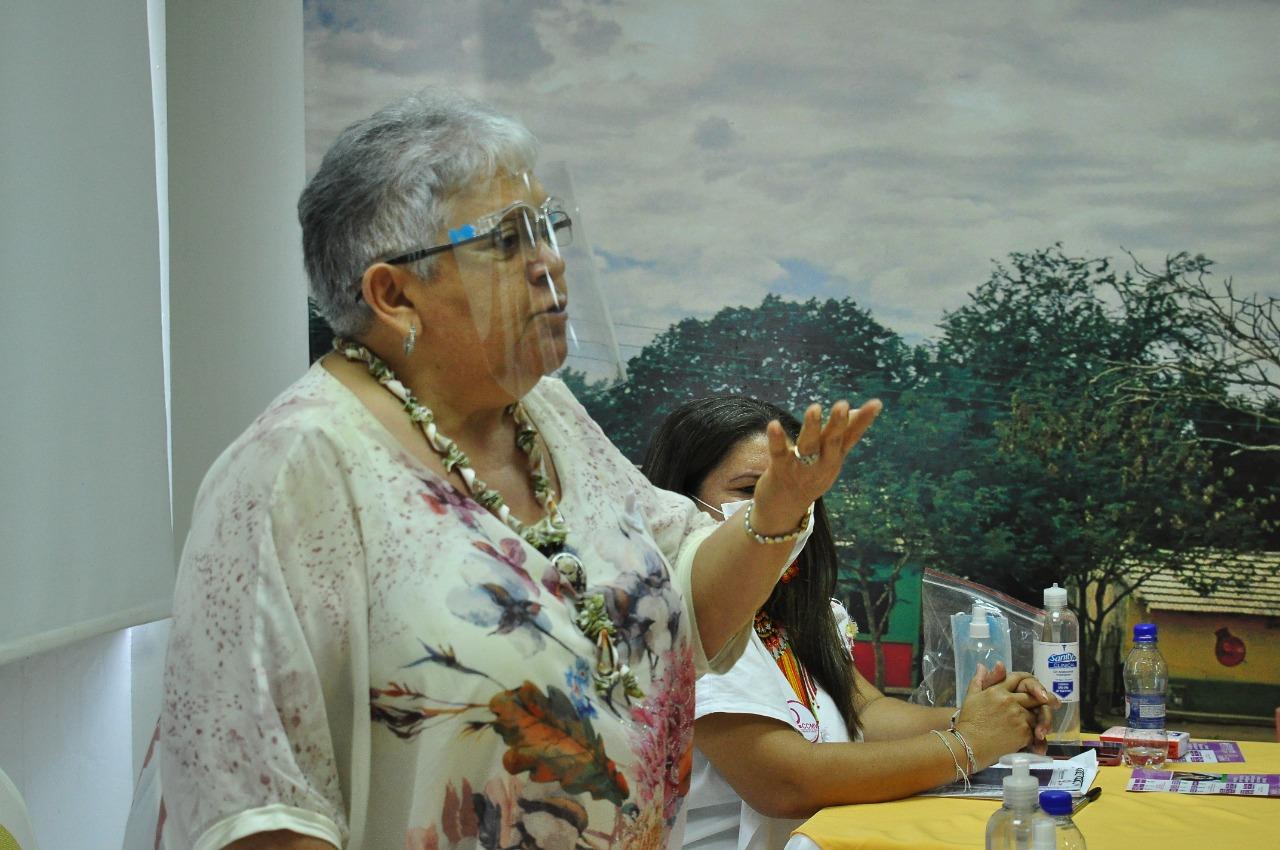 Imelda Daza, líder política.