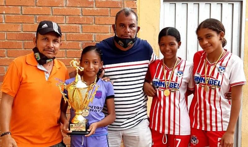 Loren Romero fue la goleadora del certamen.  FOTO/CORTESÍA.