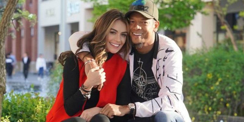 Sara Uribe y Fredy Guarín fueron pareja hasta el 2020.   FOTO/CORTESÍA.
