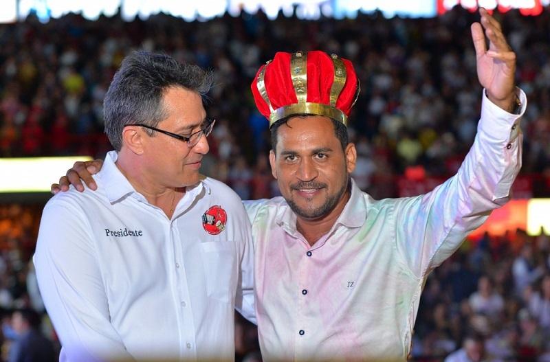 José Félix Ariza se coronó rey de reyes de la piqueria en el 2017.    FOTO: CORTESÍA.