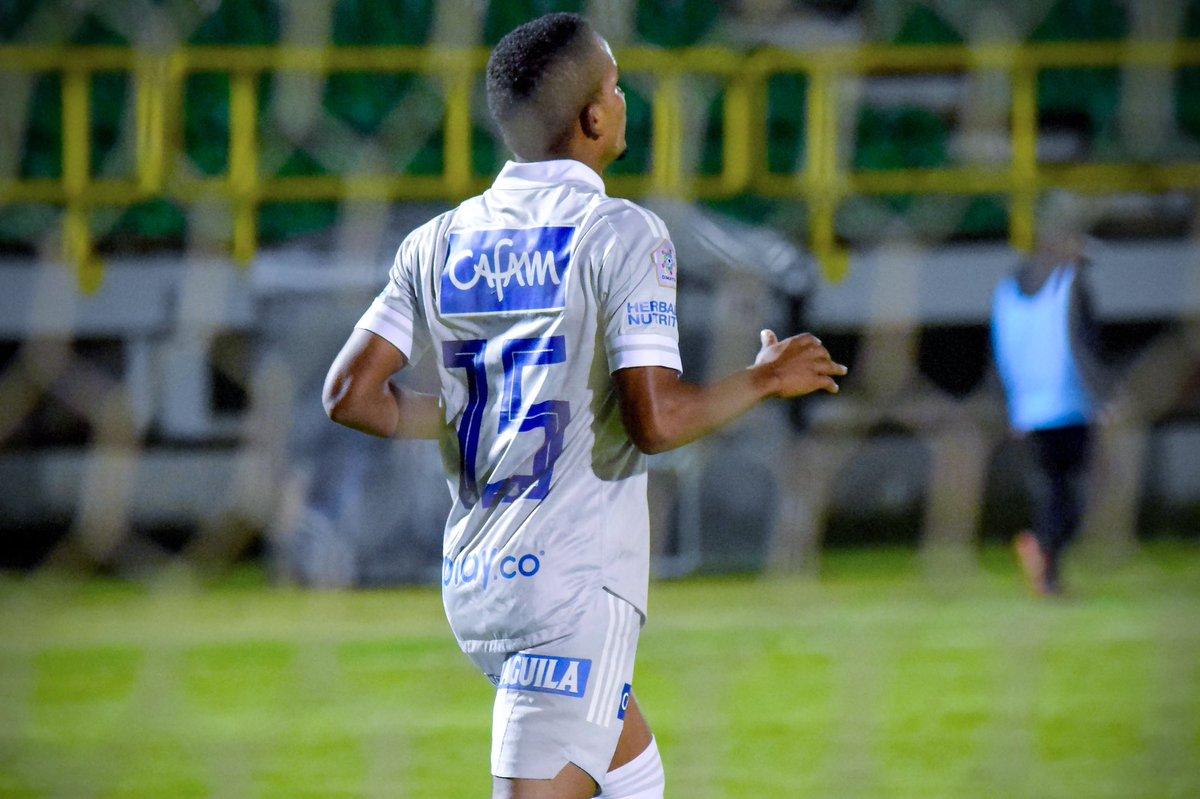Edgar Guerra suma un gol en esta liga. Se lo marcó a Patriotas Boyacá.