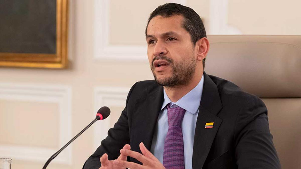 Daniel Palacios, ministro del Interior.