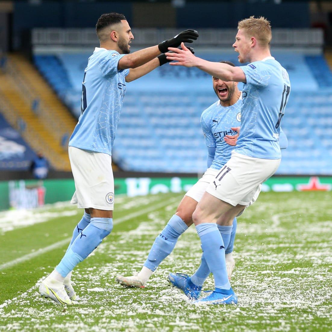 Manchester City celebró por primera vez el paso a la final de la Champions. Foto: cortesía.