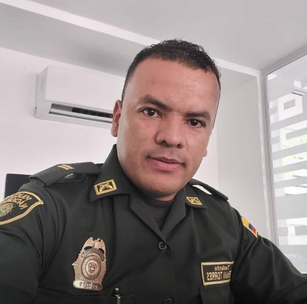 Germán Antonio Torres era estudiante de Derecho.