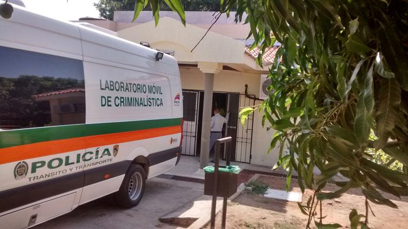 El cuerpo de la víctima fue llevado a la morgue de Chiriguaná.