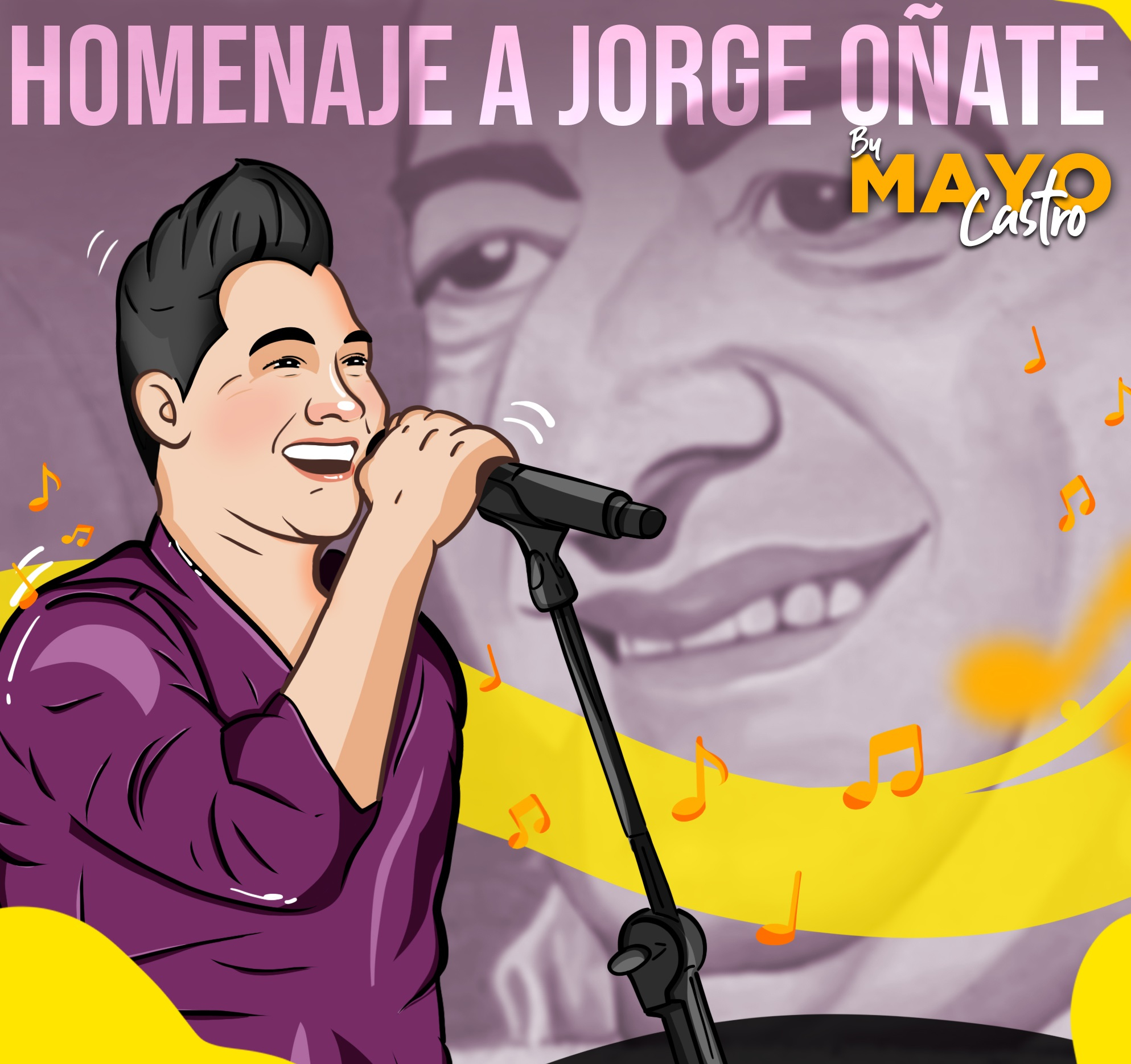 Mayo Castro, cantante.    FOTO: CORTESÍA.