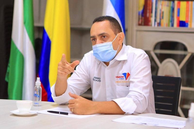Iván Bolaño, secretario de Educación Municipal.   FOTO: CORTESÍA.